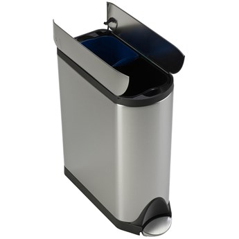 Simplehuman Butterfly Recycle 40 liter afbeelding 1