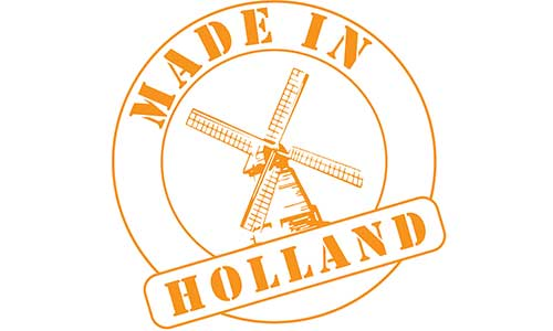 Made in Holland stempel